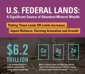 U.S. Federal Lands: A Significant Source of Abundant Mineral Wealth